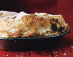 rum raisin apple pie picture