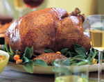 roast turkey with port gravy picture