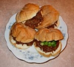 Halftime Shredded Beef Sandwiches picture