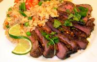Grilled Thai Sirloin with Tangy Lime Sauce picture