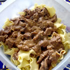 Beef Tips and Noodles picture