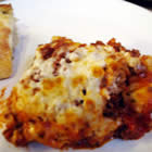 beefy baked ravioli picture