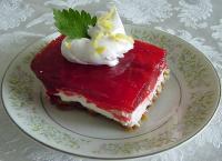Strawberry Pretzel Jell-O picture