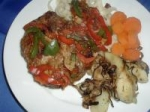 Pork Steaks with Peppers picture