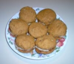 Frosted Pumpkin-walnut Cookies picture