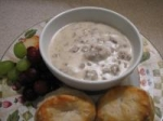 Sausage Gravy and Biscuits picture