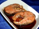 Broiled Salmon Steaks picture
