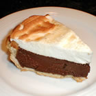 bev's chocolate pie picture