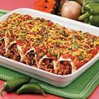 black bean and rice enchiladas picture