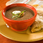 Black Bean and Salsa Soup picture