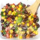 black bean salad picture