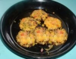 brunch: portabello stuffed mushrooms picture