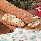blue cheese garlic bread picture