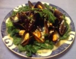 Mussels in White Wine and Garlic picture