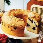 blueberry sour cream pound cake picture