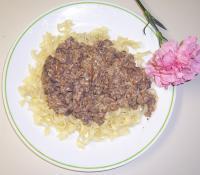 hamburger stroganoff picture