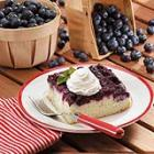 blueberry upside-down cake picture