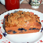 blueberry zucchini bread picture
