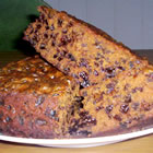 boiled fruit cake picture