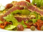 Seared Encrusted Tuna Steak Salad picture