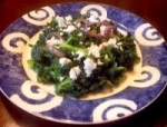Feta Cheese, Kale & Red onions picture