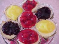 Individual Mini Cherry Cheesecakes picture