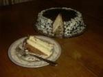 Chocolate-Glazed Coconut-Almond Cake picture