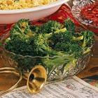 broccoli with ginger-orange butter picture