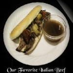 our favorite italian beef picture