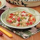 brown rice turkey soup picture