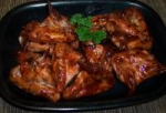 Oven-Barbecued Chicken Wings picture