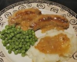 Gourmet Bangers & Mash picture