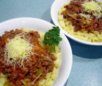 traditional spaghetti bolognese picture