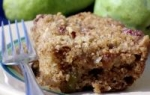Pear Coffee Cake with Ginger Pecan Crunch Topping picture