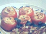 Cheese Souffle in Tomatoes picture