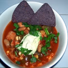 Busy Night Turkey Taco Soup with Avocado Cream picture