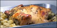 Roast Chicken Stuffed with Herbed Potatoes picture