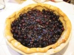 Fresh Blueberry Pie picture