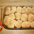 butterscotch apple dumplings picture