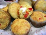 Corn Muffins with Sweet Red Peppers picture