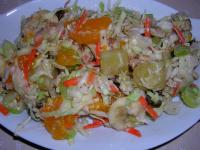 Tropical Fruit and Nut Coleslaw picture