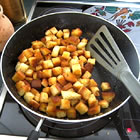 caesar salad croutons picture