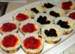 Mini Cherry Cheesecakes with Vanilla Wafer Crusts picture