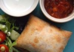 Oven-Fried Chicken Chimichangas picture