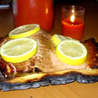 Canadian Cedar Planked Salmon picture