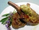 Veal Chops with Mustard-sage Butter picture