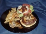 stuffed blue burgers picture