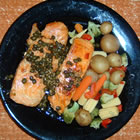 Capers and Halibut picture