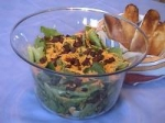 Bacon and Cheese Salad with Honey Dressing picture