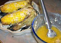 Grilled Cob Corn picture